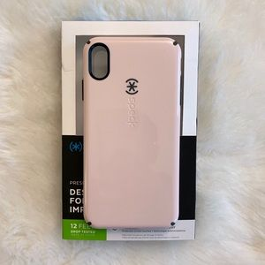 Pink Candy-shell XS Max Case